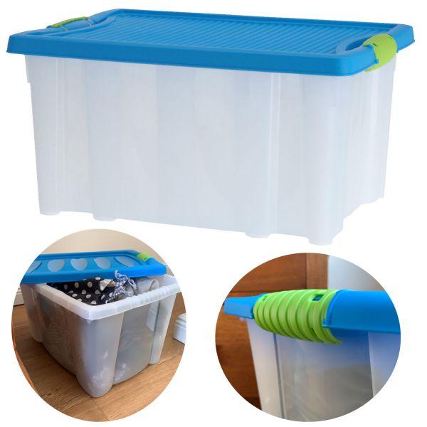 XL Stapelbox Allzweck-Kiste 40x28x20cm Allzweckbox Aufbewahrungsbox