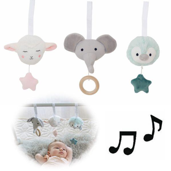 JaBaDaBaDo Greifling Anhänger 3-fach Musik Spielbogen Babyschalen Spieltrapetz N0128