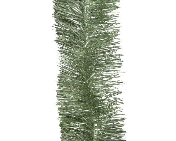 Weihnachts-Girlande 2,70 Meter Salbei-Grün Lametta Party Baum-Deko