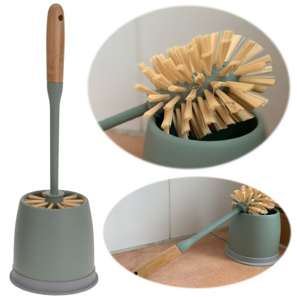 WC-Bürstengarnitur Toilettenbürste Grün Bürste Bürstenhalter Klobürste