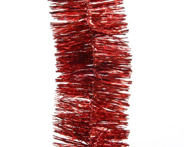 Weihnachts-Girlande 2,70 Meter Weihnachts-Rot Lametta Party Baum-Deko