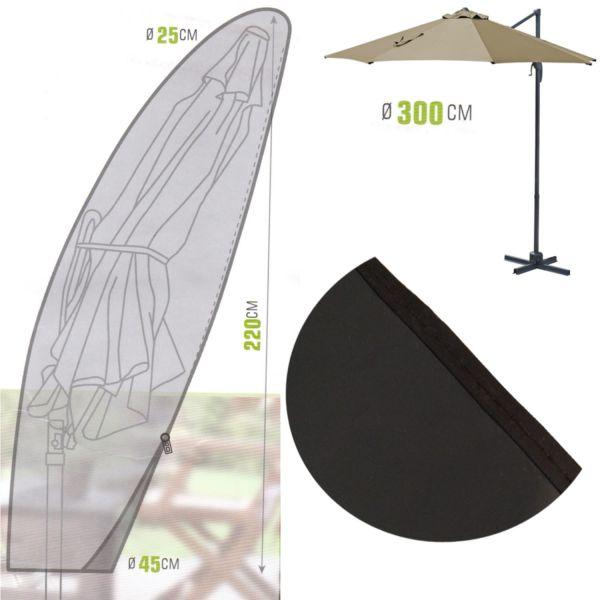 Ampelschirm Schutzhülle Schirm Husse Hülle Schutzhaube Sonnenschirmschutzhülle