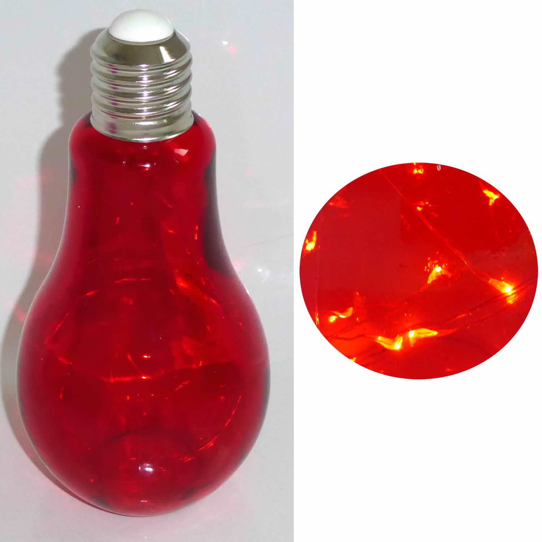 led deko gl hbirne leuchte tischlampe standlampe mirco draht rot ls lebenstil. Black Bedroom Furniture Sets. Home Design Ideas