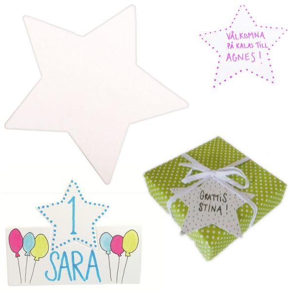 JaBaDaBaDo 8x Einladungskarte Stern Einladung Geburtstag Party Z17170