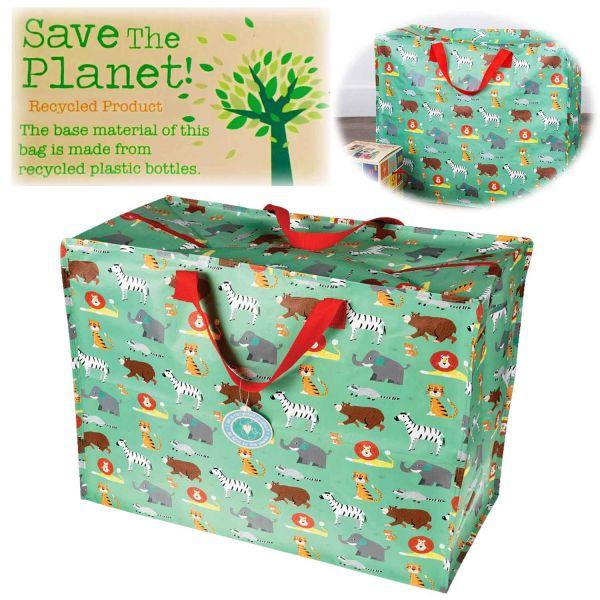 XXL Jumbo Bag Animal Park Recycled Allzwecktasche Einkaufstasche