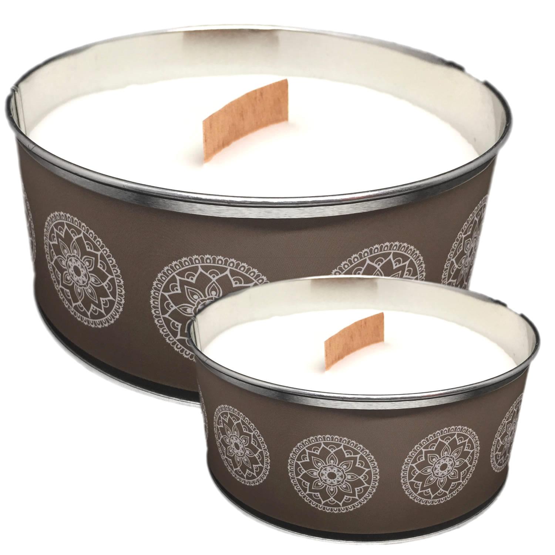 2x duftkerze kerze bl tenduft windlicht 15 std ornament. Black Bedroom Furniture Sets. Home Design Ideas