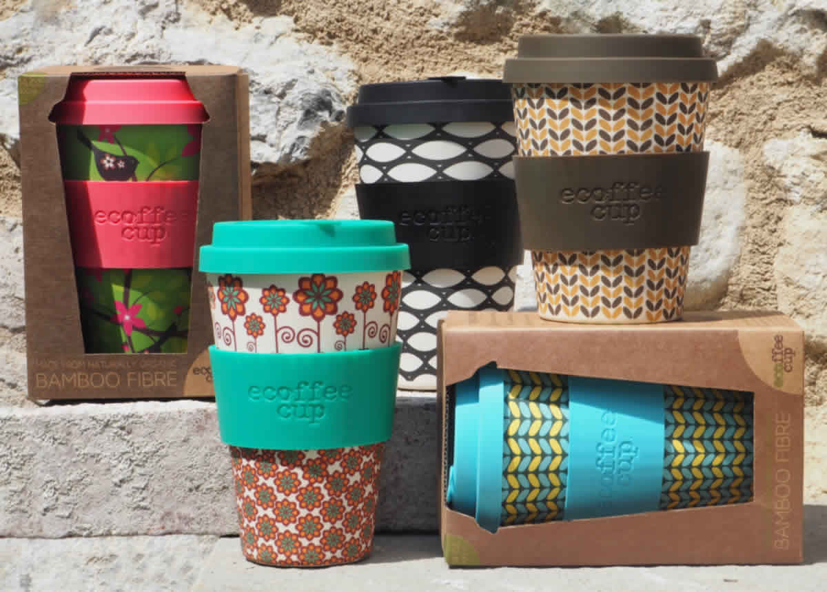 ecoffee cup bamboo bambus coffe to go ls lebenstil. Black Bedroom Furniture Sets. Home Design Ideas