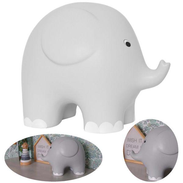 JaBaDaBaDo Keramik XXL Sparschwein Elefant 27cm Spardose Riesig G10043